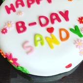 #tada #bday #birthdaycake is late... #proudofme #sugarpaste #cookingmama #delicious #chocolate and #vanilla